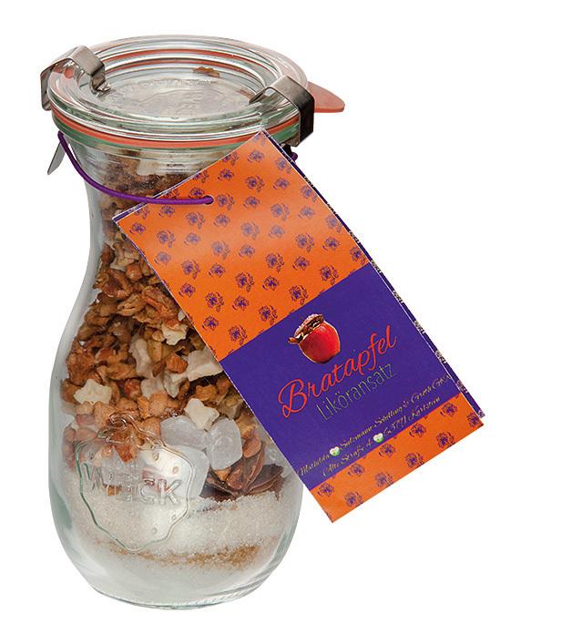 Likoransatz Bratapfel Kuchen Im Glas Nach Original Mathilda