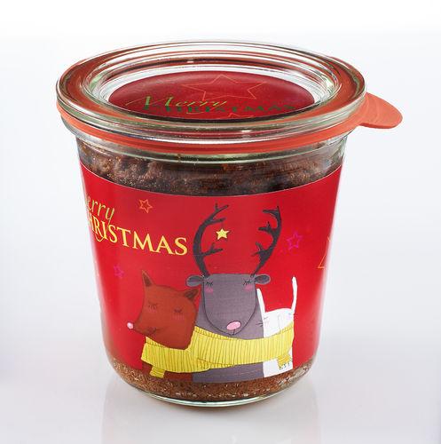 kuchen zutaten im glas weihnachten hausrezepte von beliebten kuchen. Black Bedroom Furniture Sets. Home Design Ideas