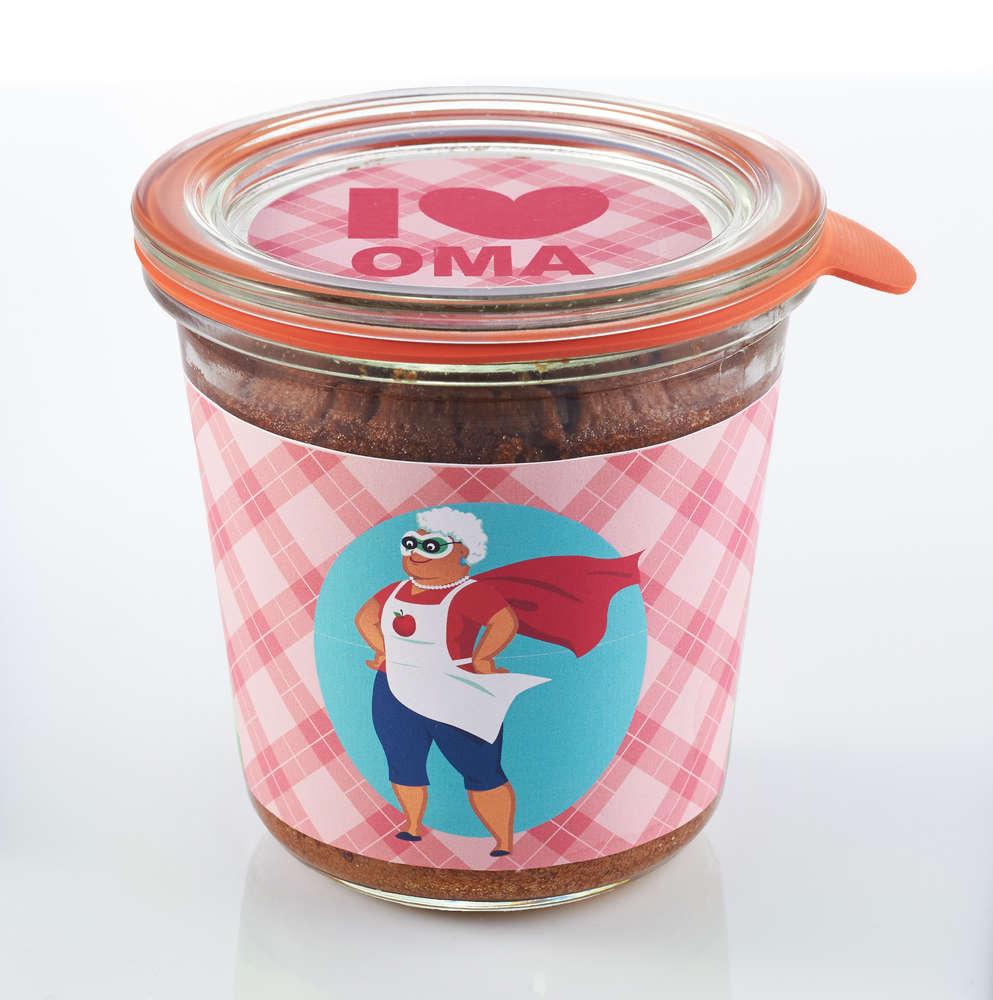 Super Oma Kuchen Im Glas Liebevolles Geschenk
